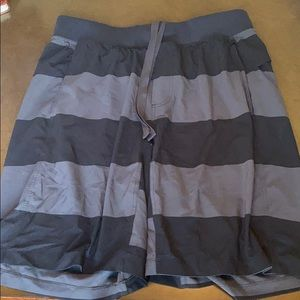 Lululemon men's linerless workout short in XL